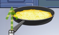 Cuisiner une omelette au fromage